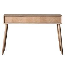 Manny European Oak Console Table