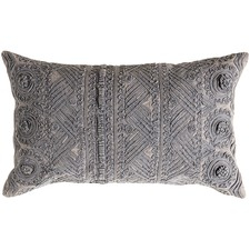 Slate Grey Pasco Stonewashed Cushion