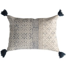 Slate Grey & Taupe Lobitos Cushion