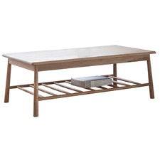 Julio Rectangular Solid Oak Coffee Table