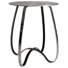 Silver Sharif Metal Side Table