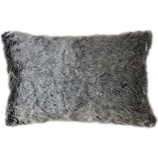 Aran Faux  Fur Rectangular Cushion