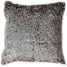 Aran Faux  Fur Square Cushion