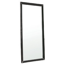 Black Belle Leaner Wall Mirror