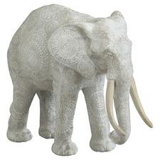 Stonewashed Mandal Elephant Statue
