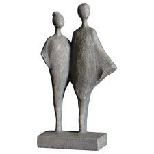 Standing Myan Duo Figurine