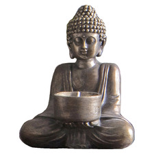 Karlo Buddha Metal Tealight Holder