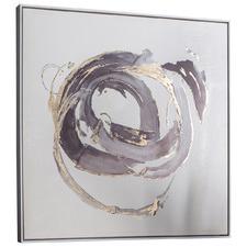 Opal Abstract Framed Canvas Wall Art