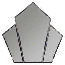 Chien Angled Diamond Wall Mirror
