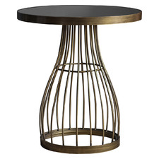 Southgate Metal & Marble Side Table