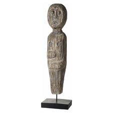 Solitary Man Albasia Wood Decorative Stand