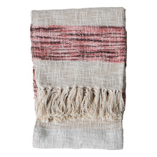 Blush Thea Cotton Throw