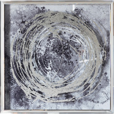 Hurricane II Framed Printed Wall Art