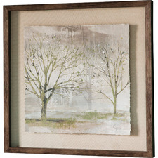 Early Mist II Framed Printed Wall Art