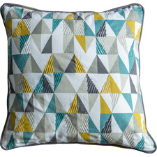 Geometric Scandi Cotton Cushion
