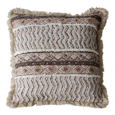 Natural Mahika Cotton Cushion