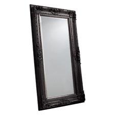 Vicky Mirror in Satin Black