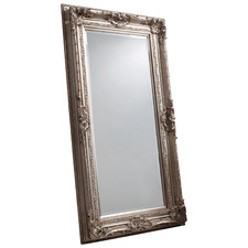 Vicky Mirror in Silver