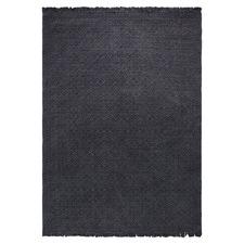 Charcoal Tushar Cotton Rug