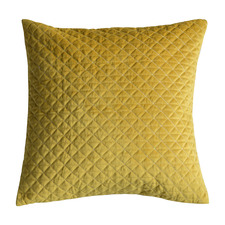 Diamond Moshino Quilted Velvet Cushion