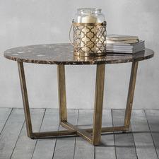 Nala Round Marble Coffee Table