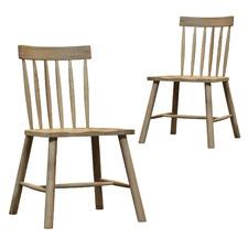 Kingham Oak Dining Chairs (Set of 2)