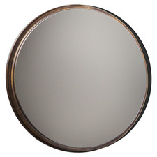 Frost Round Metal Wall Mirrors (Set of 4)