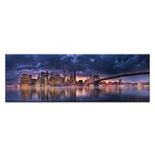 Financial District Canvas Wall Art