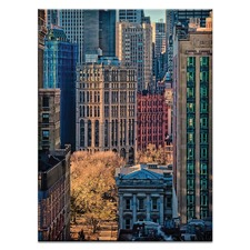 Colours of NY Canvas Wall Art