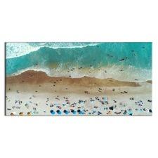 At the Beach Printed Wall Art