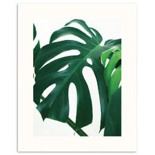 Tropical Leaf 1 Printed Wall Art