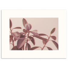 Retro Leaves Printed Wall Art