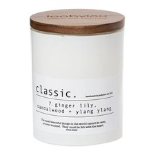 Classic No.7 Ginger Lily, Sandalwood and Patchouli Candle