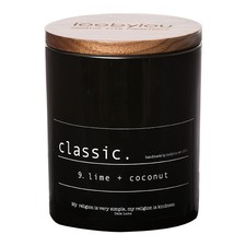 Classic No.9 Lime and Coconut Candle