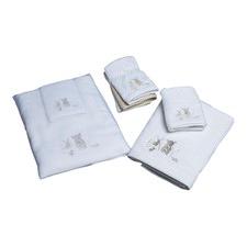 Natural Baby Towel & Washer in Organza Bag
