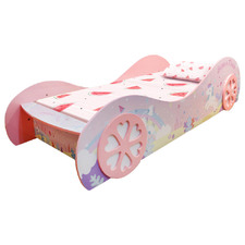 Pink Unicorn Wonderland Single Bed with Drawer
