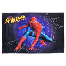 Spiderman Web Power-Loomed Kids' Rug