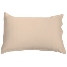 Shimmering Nude Mulberry Silk Pillowcase
