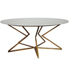 Gold Shayna Coffee Table