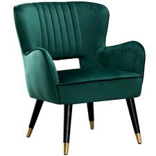 Pinotage Velvet Armchair