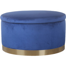Edinburgh Velvet Storage Ottoman