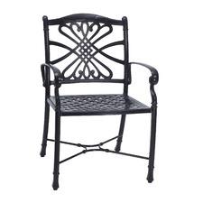 Bella Vista Aluminium Outdoor Dining Chair