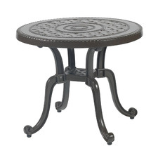 Grand Terrace Round Outdoor Side Table