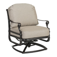 Grand Terrace Outdoor Swivel Rocking Lounge Chair Frame