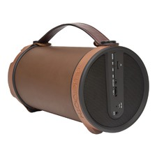 Brown Boomtube Bluetooth Speaker