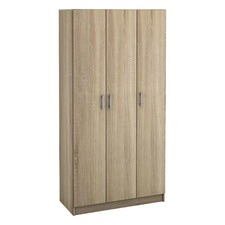 Basic 3 Door Bedroom Wardrobe