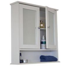 Odessa Mirrored Double Door Bathroom Cabinet