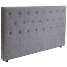 Grey Anahi Free Standing Queen Bedhead