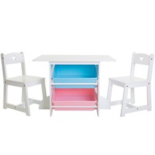 Mia Kids' Table & Chairs Set