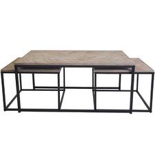 3 Piece Avoca Nesting Coffee Table Set